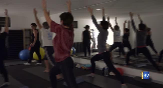 Canal 32 - Question Santé : yoga et pilates, des activités pour renforcer son dos en douceur
