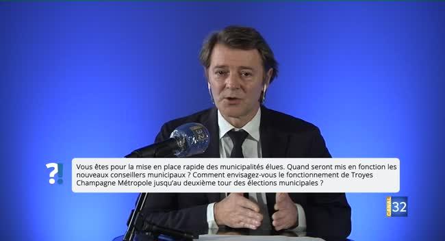 Canal 32 - Questions/Réponses avec François Baroin : le fonctionnement de Troyes Champagne Métropole