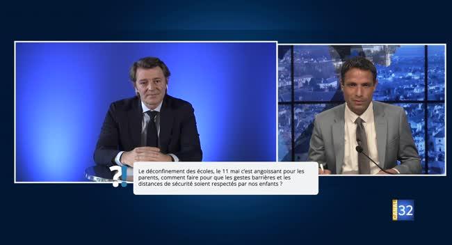 Canal 32 - Questions/Réponses avec François Baroin : le point sur les écoles