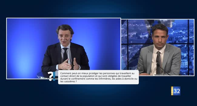 Canal 32 - Questions/Réponses avec François Baroin : le point sur les masques
