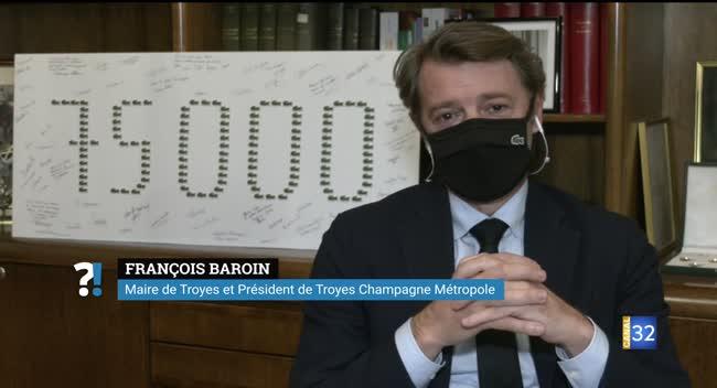 Canal 32 - Reconfinement : Questions/Réponses avec François Baroin