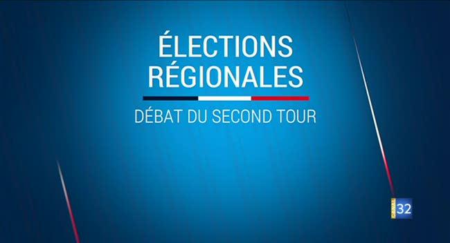 Canal 32 - Régionales : le débat de l'entre deux tours dans l'Aube