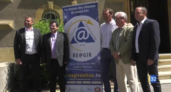Canal 32 - Ré@gir : une fédération de réseaux d'entreprises pour se faire connaître