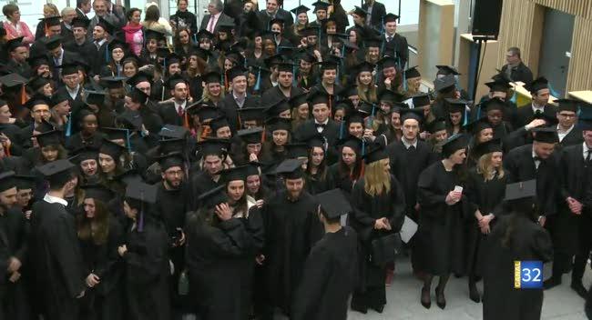 Canal 32 - Groupe ESC Troyes : 477 diplômés et 4 parrains