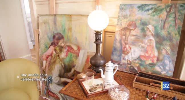 Canal 32 - Essoyes fête cette année le centenaire de la mort de Pierre-Auguste Renoir