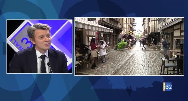 Canal 32 - Réouvertures des restaurants, conséquences économiques : les réponses de François Baroin
