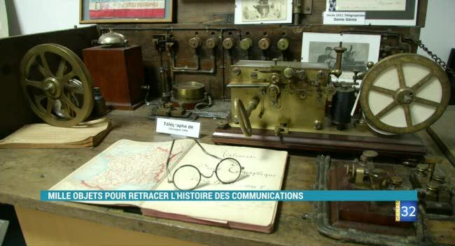 Canal 32 - Reportage Grand Format : le musée des communications à Neuville-sur-Seine