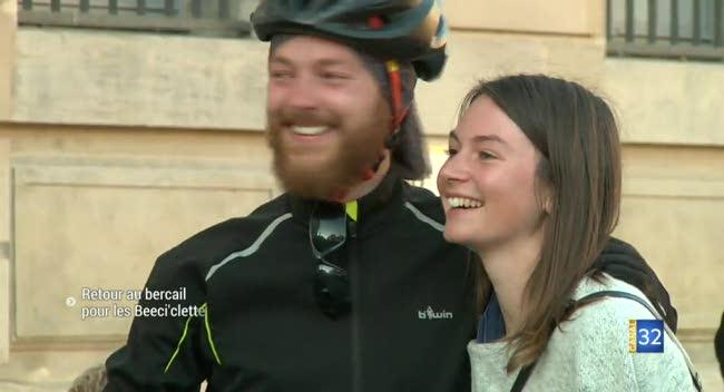 Canal 32 - Troyes : Retour au bercail pour les Beeci'clettes