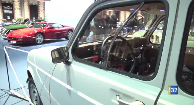 Canal 32 - Rétroymobile : la marque Jaguar mise à l'honneur