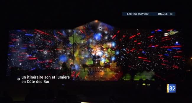 Canal 32 - Riciacus, point de départ d'un itinéraire son et lumière en Côte des Bar
