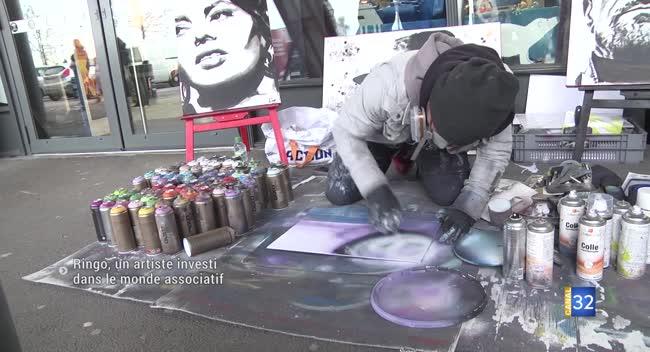 Canal 32 - Ringo, un artiste investi dans le monde associatif