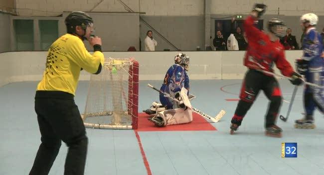 Canal 32 - Roller-Hockey: les Diables de Troyes échouent de peu face au leader rémois : 3-4