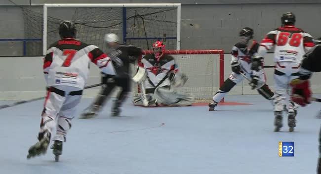 Canal 32 - Roller-Hockey N2, les Diables de Troyes sur courant alternatif devant St Gratien : 6-8