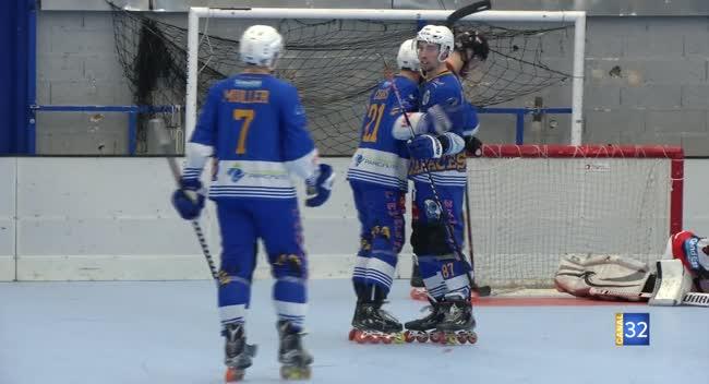 Canal 32 - Roller-hockey : Troyes sorti avec fracas de la Coupe de France par Reims : 1-11