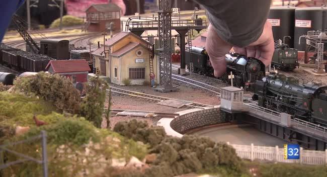 Canal 32 - Romilly-sur-Seine : des trains miniatures en exposition jusqu'à dimanche !