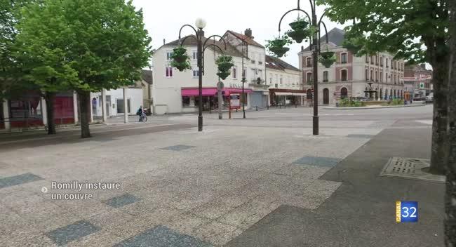 Canal 32 - Romilly-sur-Seine instaure un couvre feu