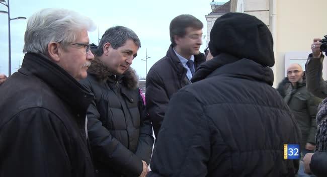 Canal 32 - Romilly-sur-Seine : le président de la région Grand Est à la rencontre des usagers de la Ligne 4