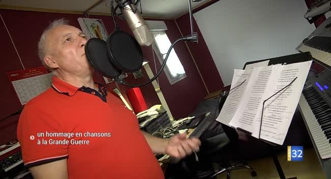 Canal 32 - Christian Gérard : un hommage en chansons à la Grande Guerre