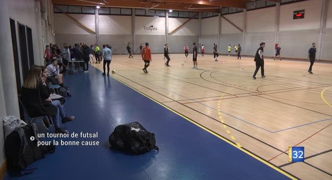 Canal 32 - Rosières-près-Troyes : du futsal pour la bonne cause