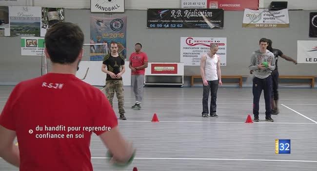 Canal 32 - Rosières-près-Troyes : du sport pour sortir de son quotidien difficile