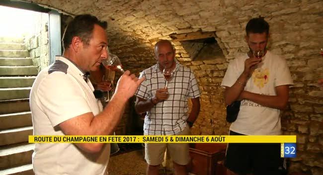 Canal 32 - ROUTE DU CHAMPAGNE EN FÊTE : le rosé de saignée