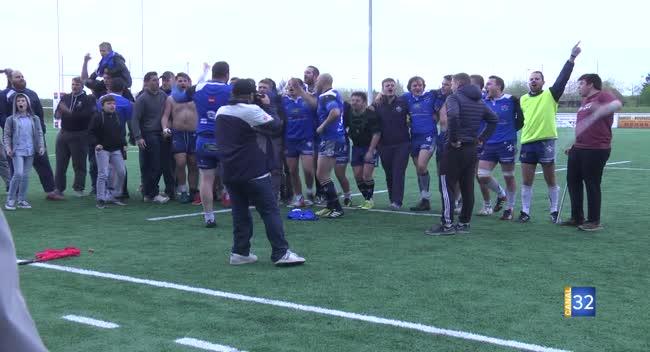 Canal 32 - Rugby : la performance du RC Saint-André contre Colmar (14-13)