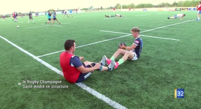 Canal 32 - Rugby : le RCSA vise la fédérale 3