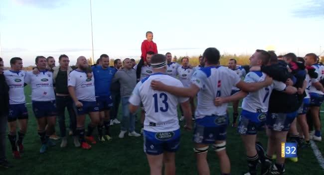 Canal 32 - Rugby PH, Bonus offensif pour le RCSA face à Hagondange : 43-3