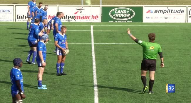 Canal 32 - Rugby PH : le RCSA toutes voiles dehors devant Pont-à-Mousson : 29-17