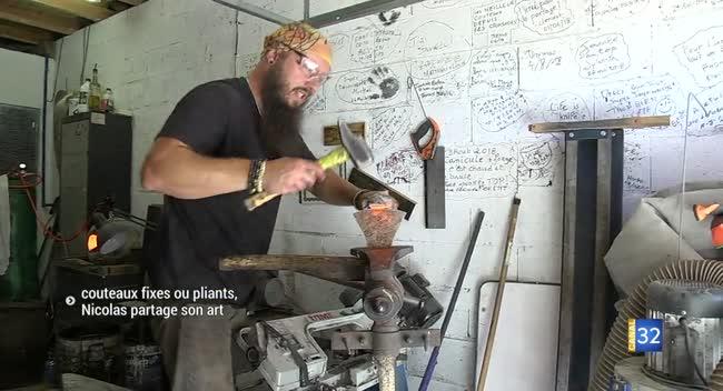 Canal 32 - Saint-Jean-de-Bonneval : un coutelier-forgeron qui partage son expérience