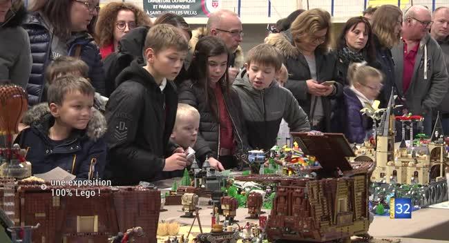 Canal 32 - Saint-Julien-les-Villas : une exposition 100% lego