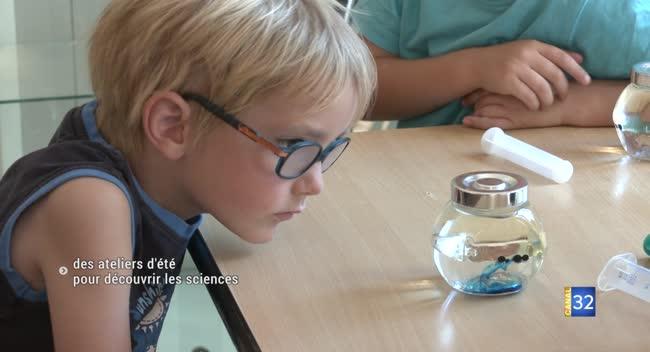 Canal 32 - Sainte-Savine : des ateliers d'été pour découvrir les sciences