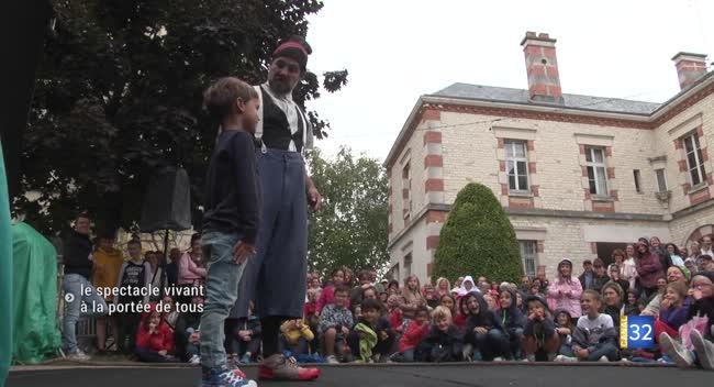Canal 32 - Sainte-Savine : le spectacle vivant à la portée de tous