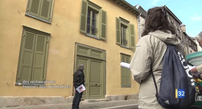 Canal 32 - Ecussons 2019 : Sauvegarde et avenir de Troyes évalue la qualité des restaurations