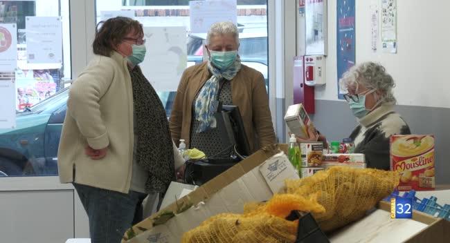 Canal 32 - Vendeuvre-sur-Barse : le secours catholique poursuit partiellement ses activités