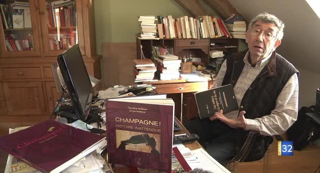 Canal 32 - Serge Wolikow rédige le premier livre sur l'histoire de la Côte des Bar