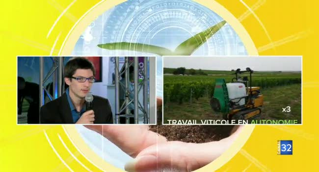 Canal 32 - Smart agriculture : des start-up au service des agriculteurs