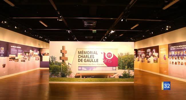 Canal 32 - Spéciale Colombey-les-deux-églises - Le Mémorial de Gaulle fête ses 10 ans