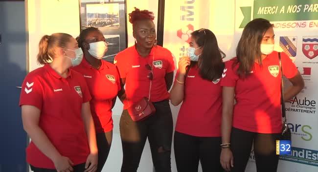 Canal 32 - Sport féminin : le RSJH et le SSB s'allient pour présenter leurs équipes