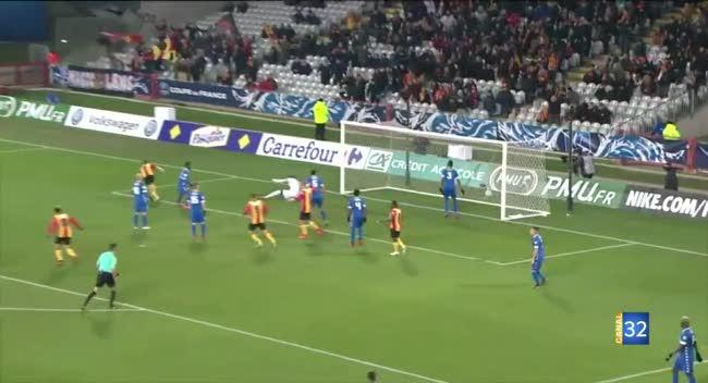 Canal 32 - Coupe de France : l'Estac éliminée à Lens (1-0), la réaction de Benjamin Nivet