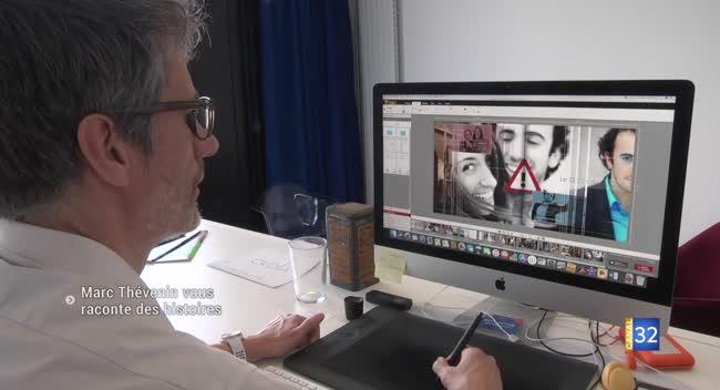 Canal 32 - Storytelling : quand Marc Thévenin raconte votre histoire à travers des photos