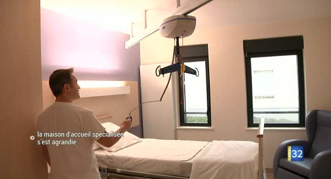 Canal 32 - Brienne-Le-Château : la maison d'accueil spécialisée s'est agrandie