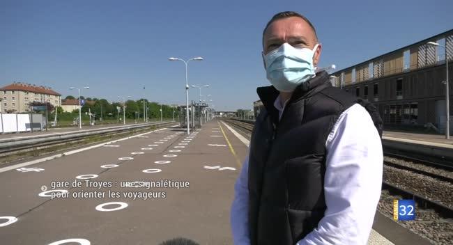 Canal 32 - Gare de Troyes : une signalétique pour diriger et sécuriser les voyageurs