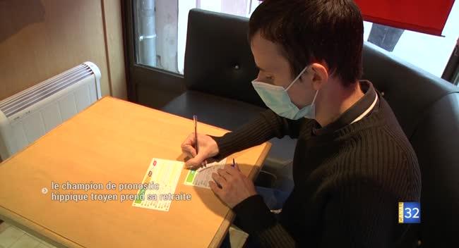 Canal 32 - Tony Gonzalez, champion de France de pronostic hippique, fait une pause.