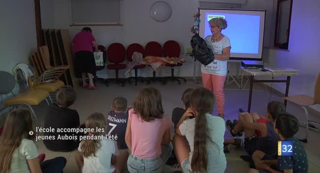 Canal 32 - Vacances apprenantes : l'école accompagne les jeunes Aubois pendant l'été