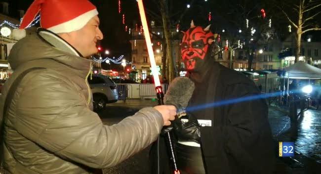 Canal 32 - Super Mario, Dark Maul ou encore Monsieur Sapin participent à la Corrida de Noël