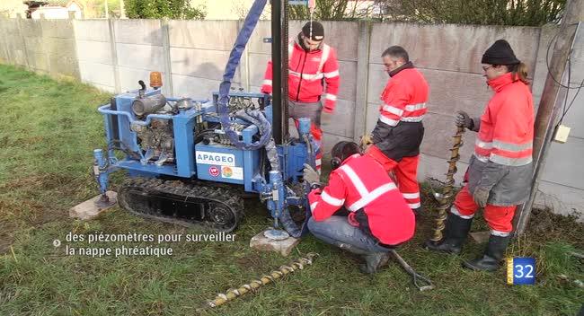 Canal 32 - Surveiller la nappe phréatique pour anticiper les inondations sur la rocade