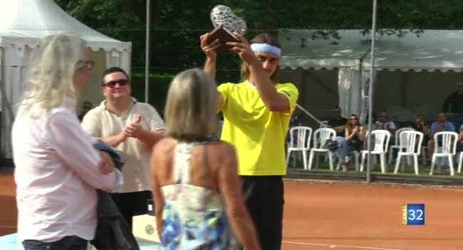 Canal 32 - Tennis, Adelchi Virgili remporte la 4ème édition des Internationaux de Troyes !
