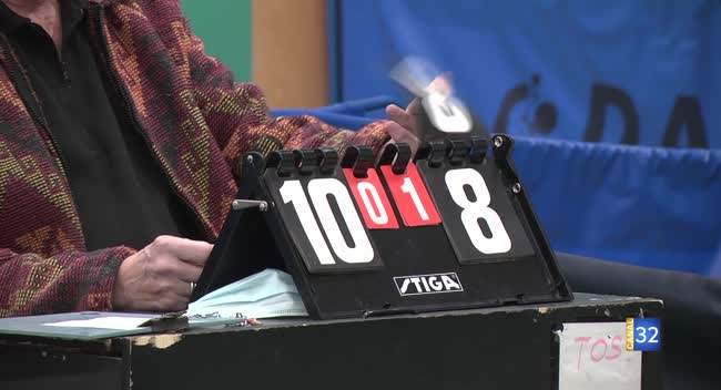 Canal 32 - Tennis de table, la saison promet d'être longue pour le Tos/Les Noës