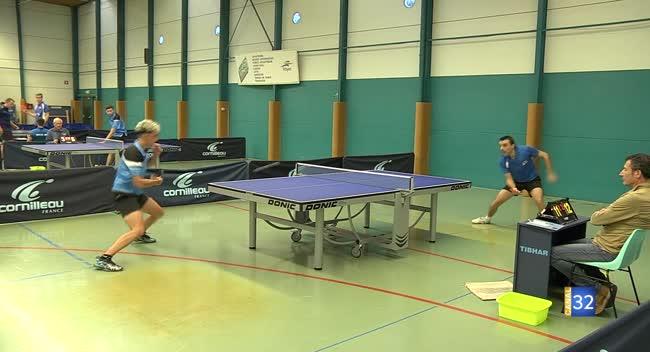 Canal 32 - Tennis de table : le TOS/Les Noës ouvre victorieusement sa saison